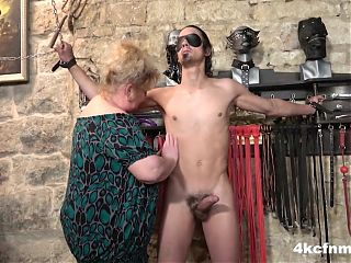 Fat Grandma Finally Lost It - FemDom