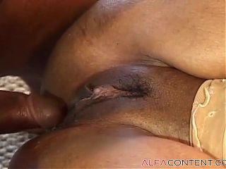 Chubby Ebony Babe Cant Get Enough Of BBC
