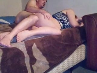 Man fucks wife while she's not asleep from behind