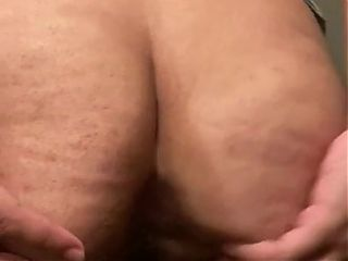 Sexy lady J spreading her asshole for daddy