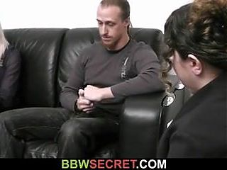Bbw seduces married man into sex